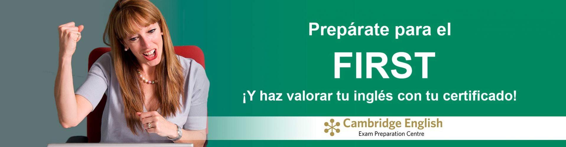 Preparación examen First - Inscripción abierta